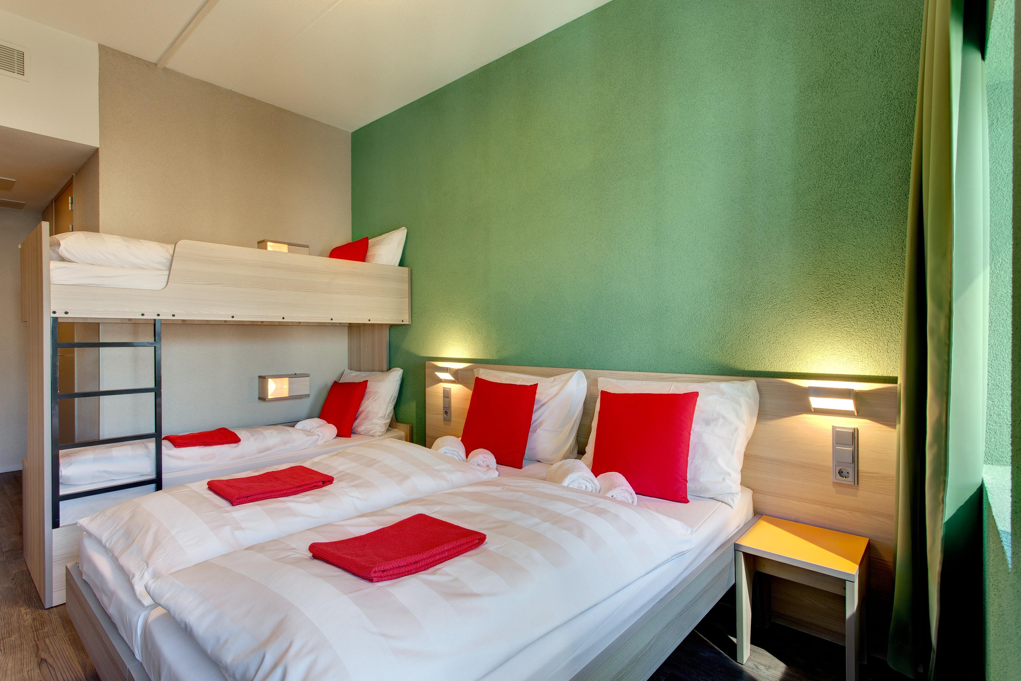 MEININGER Hotel Amsterdam City West - Gezinskamer