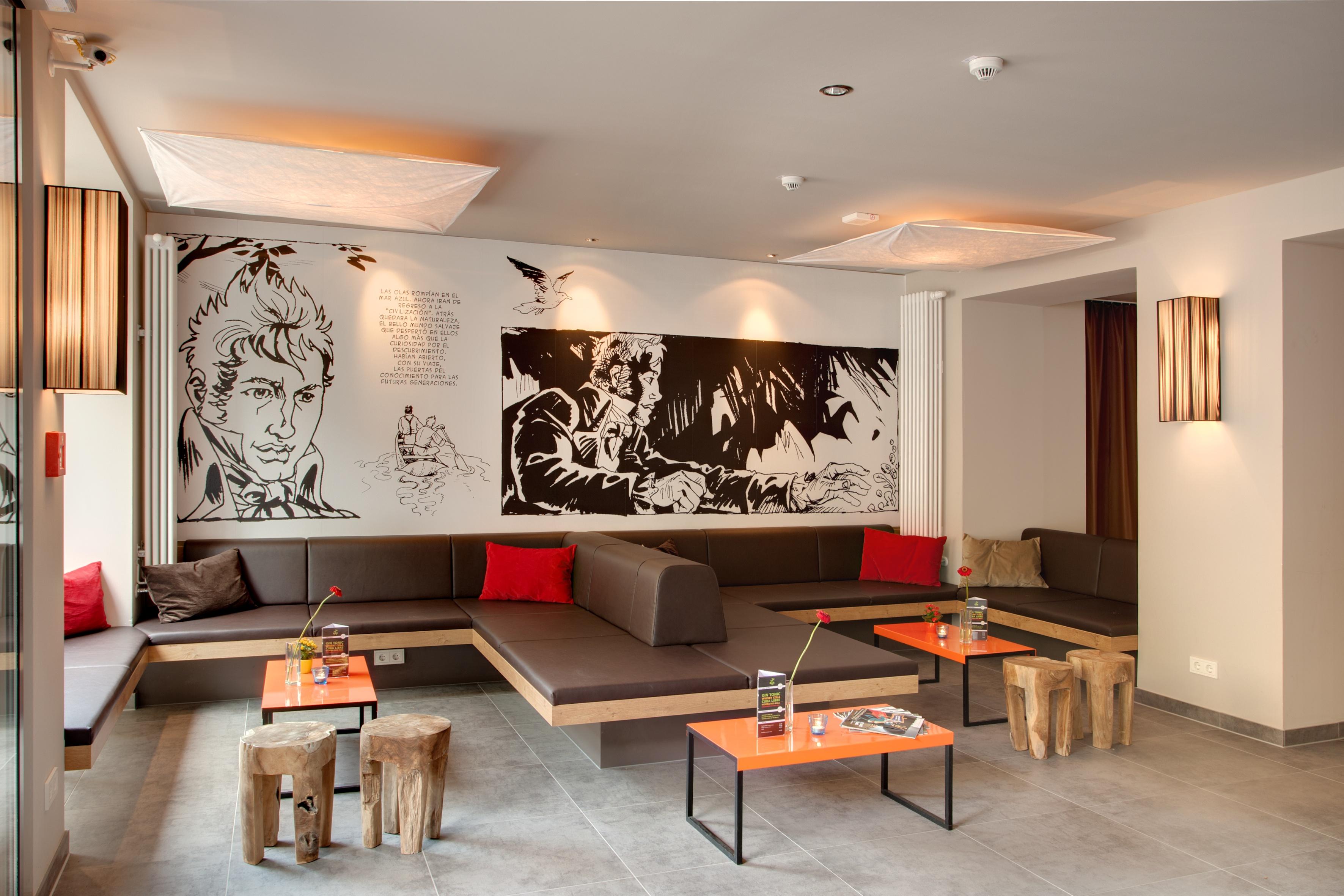 "MEININGER Hotel Berlin Mitte ""Humboldthaus"" - Lounge"