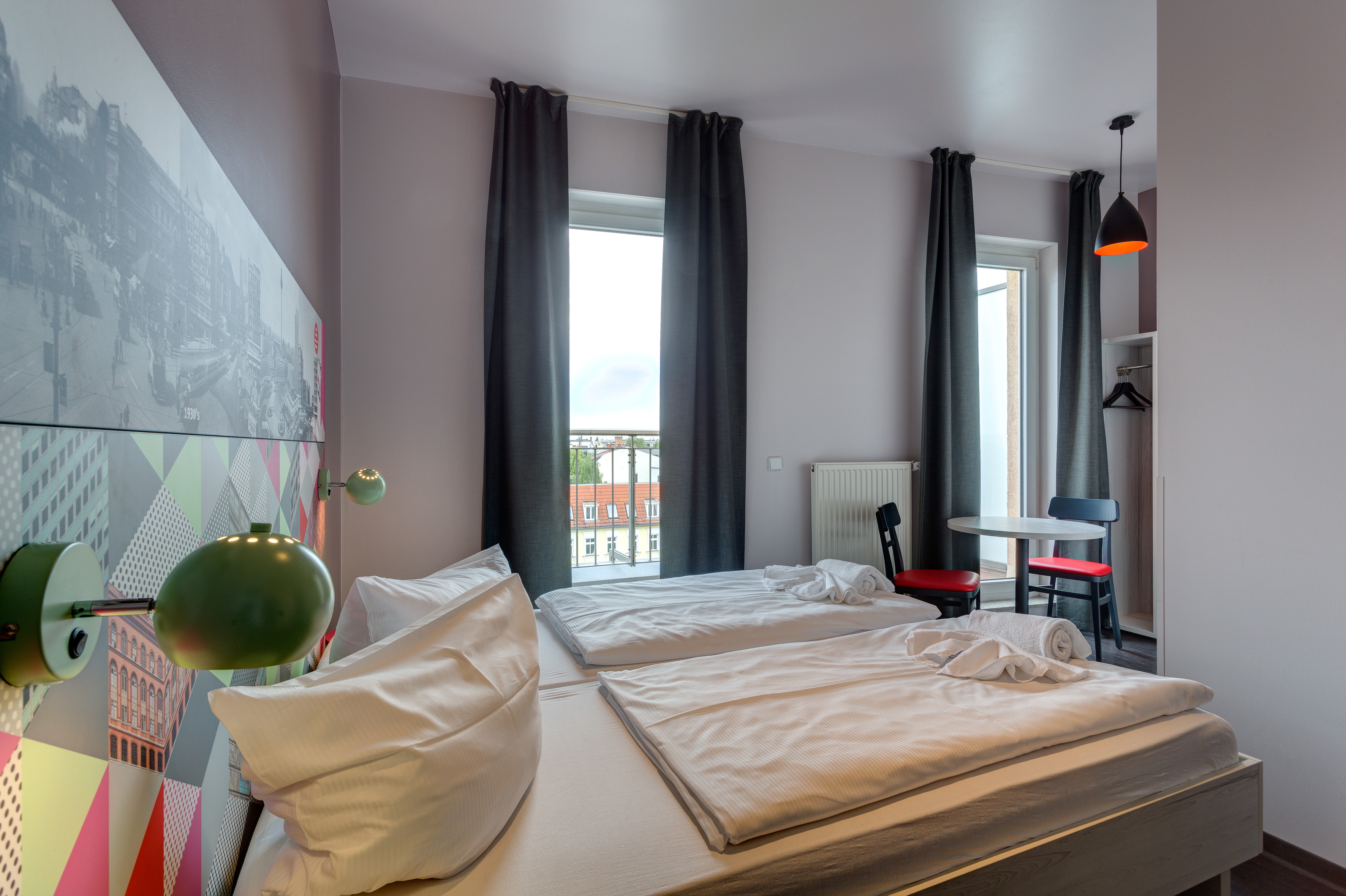 MEININGER Hotel Berlin Alexanderplatz - Habitación individual/doble
