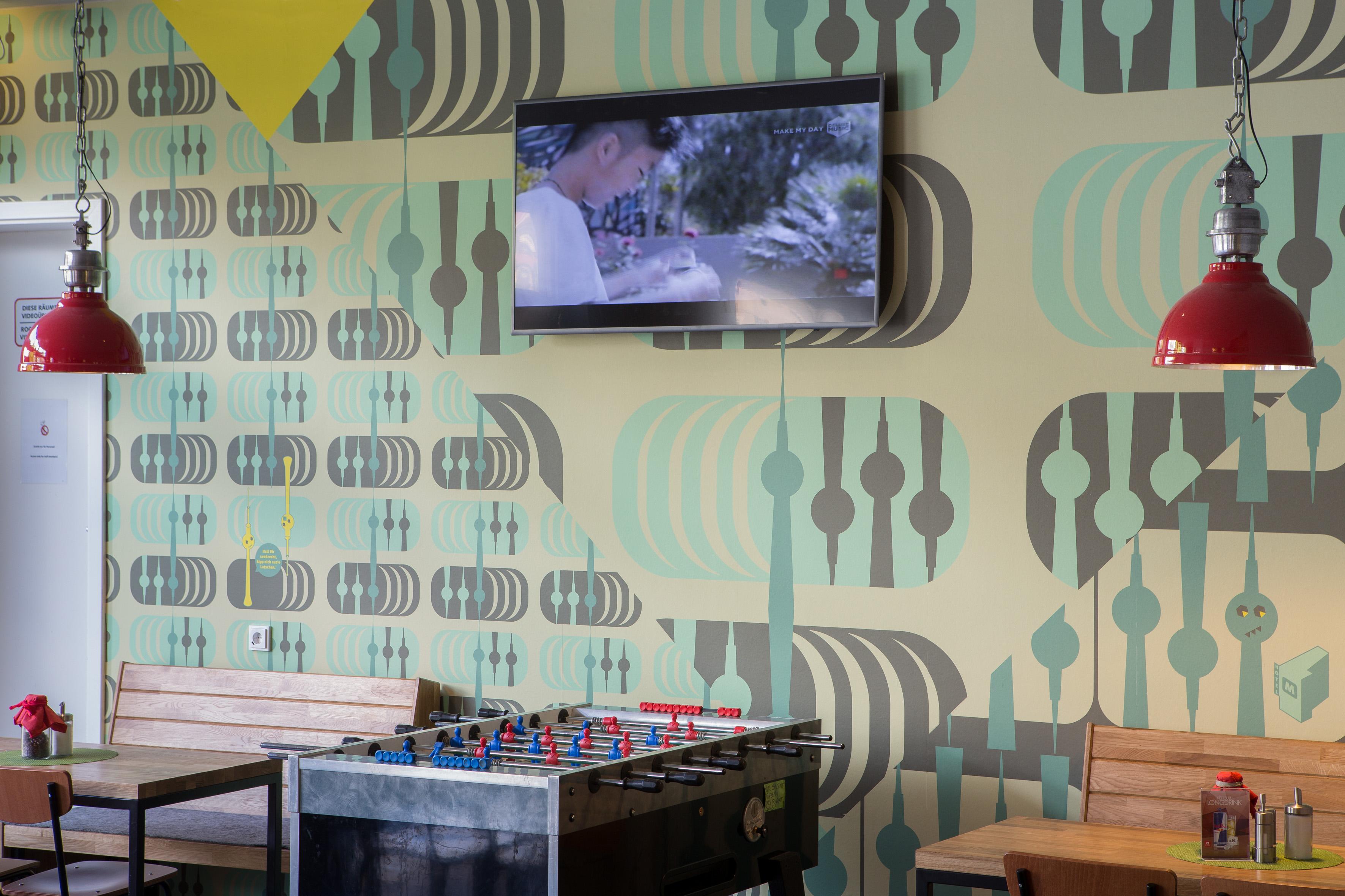 MEININGER Hotel Berlin Alexanderplatz - Gaming area