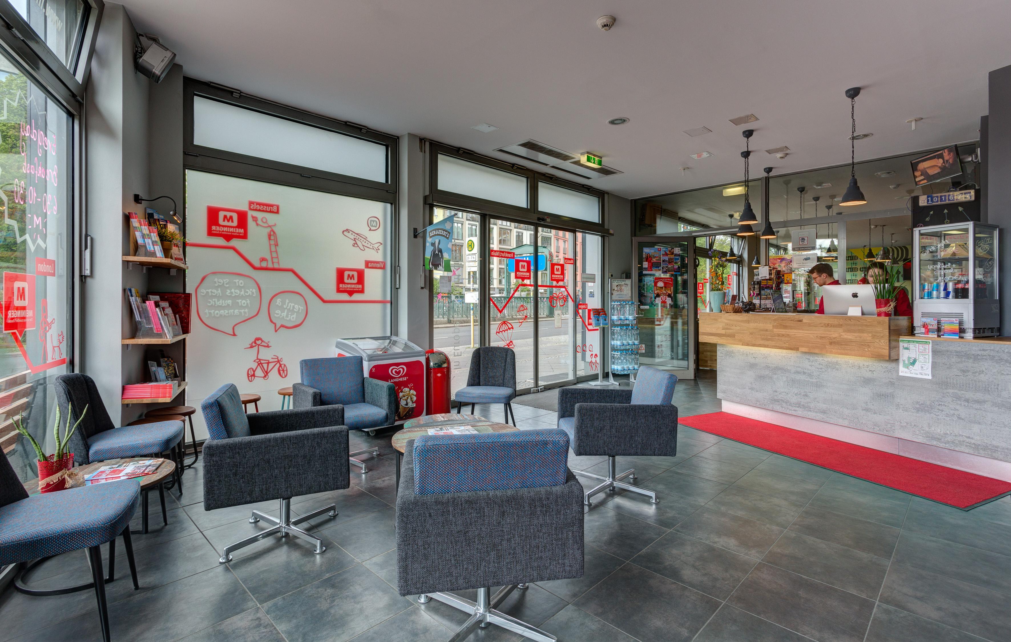 MEININGER Hotel Berlin Alexanderplatz - Lounge