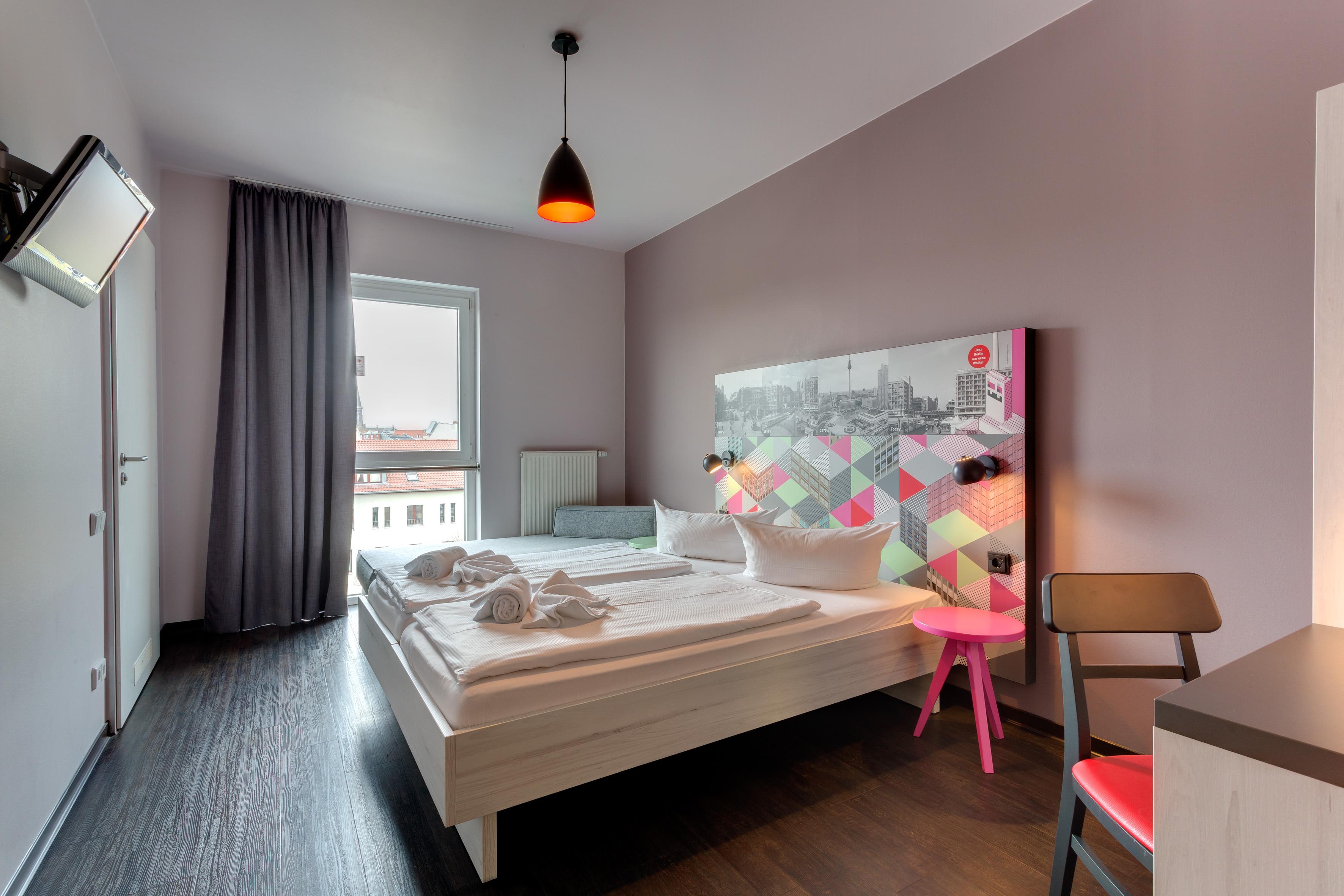 MEININGER Hotel Berlin Alexanderplatz - Chambre Simple / Double