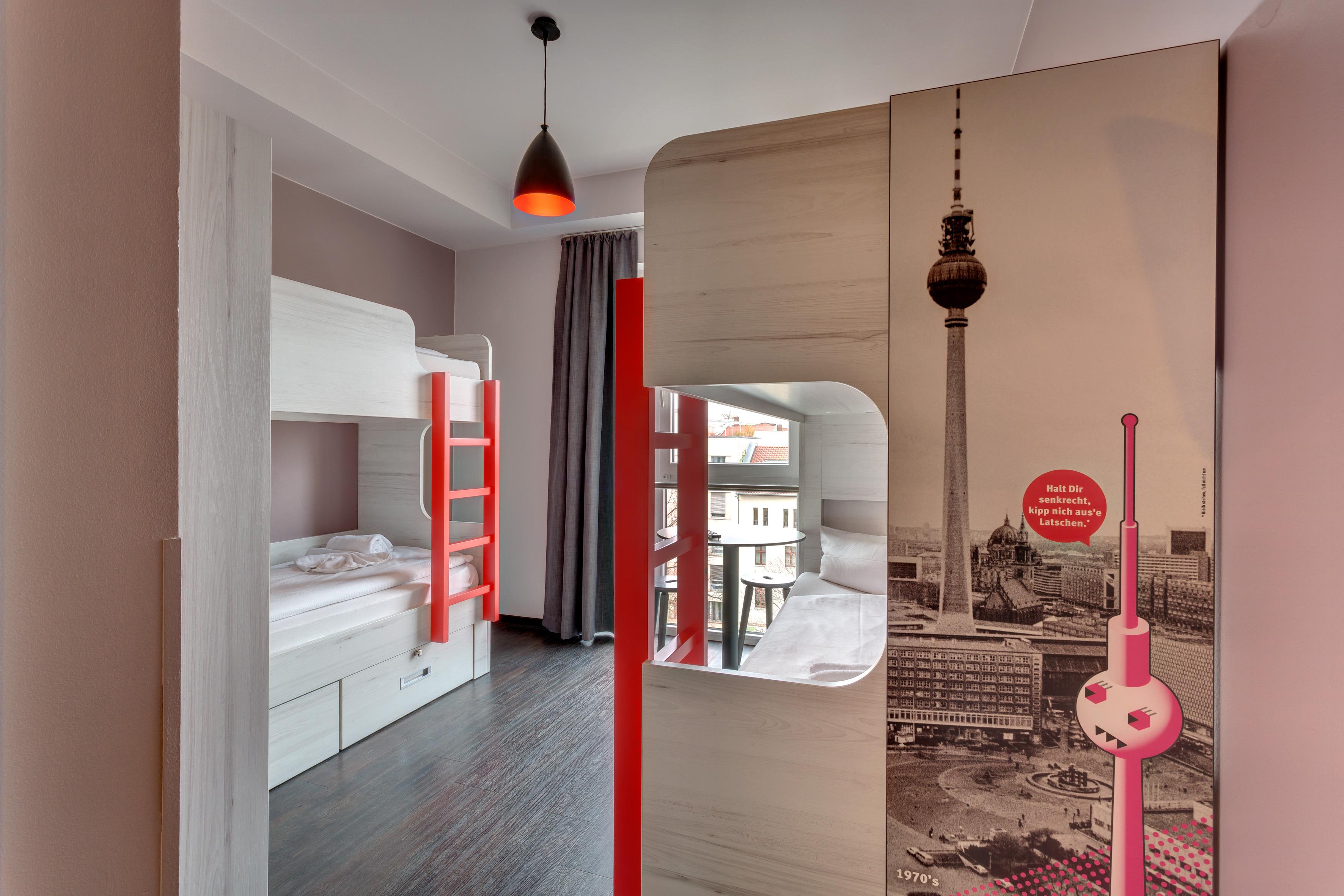 MEININGER Hotel Berlin Alexanderplatz - Dortoir