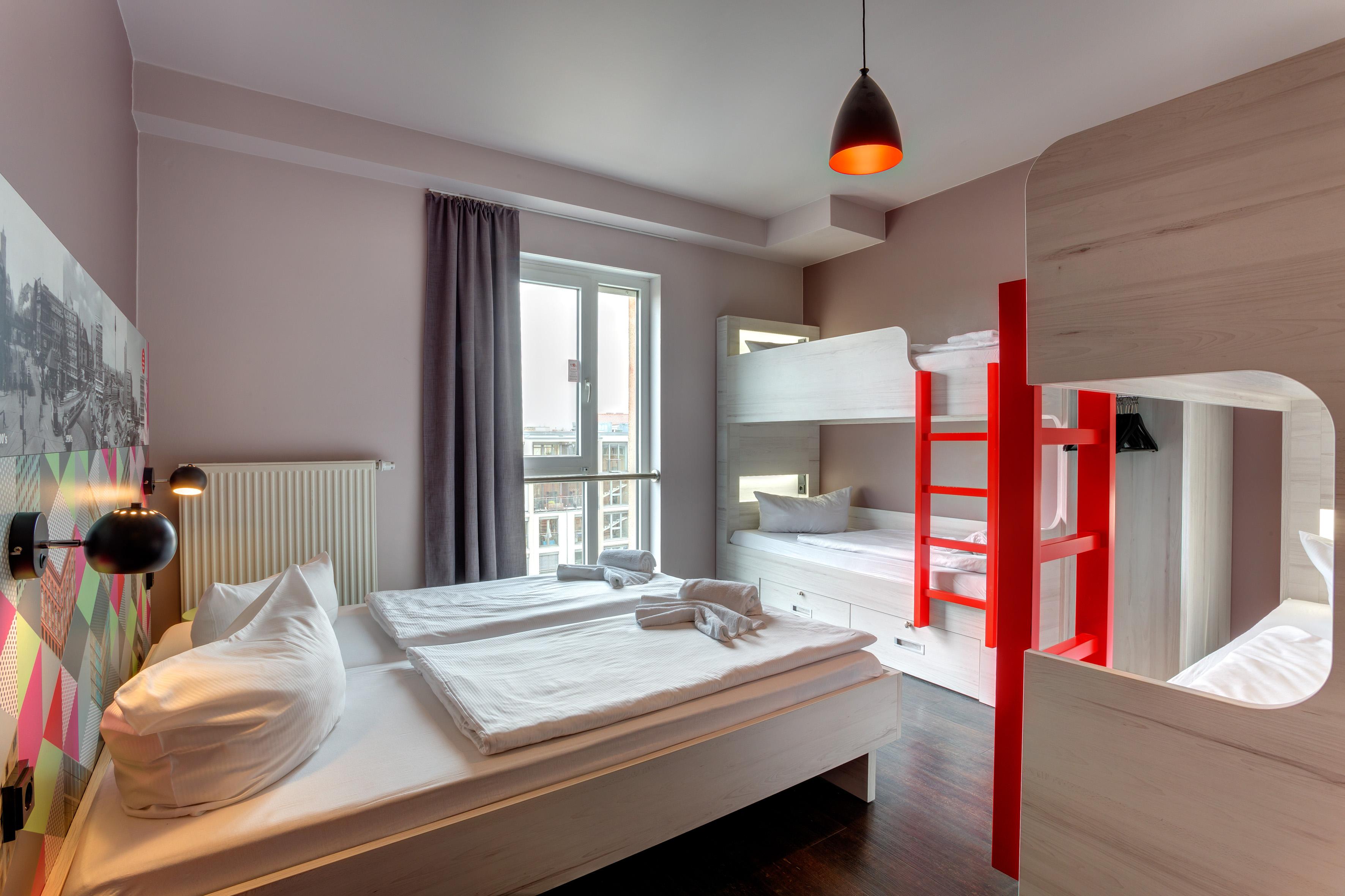 MEININGER Hotel Berlin Alexanderplatz - lits multiples