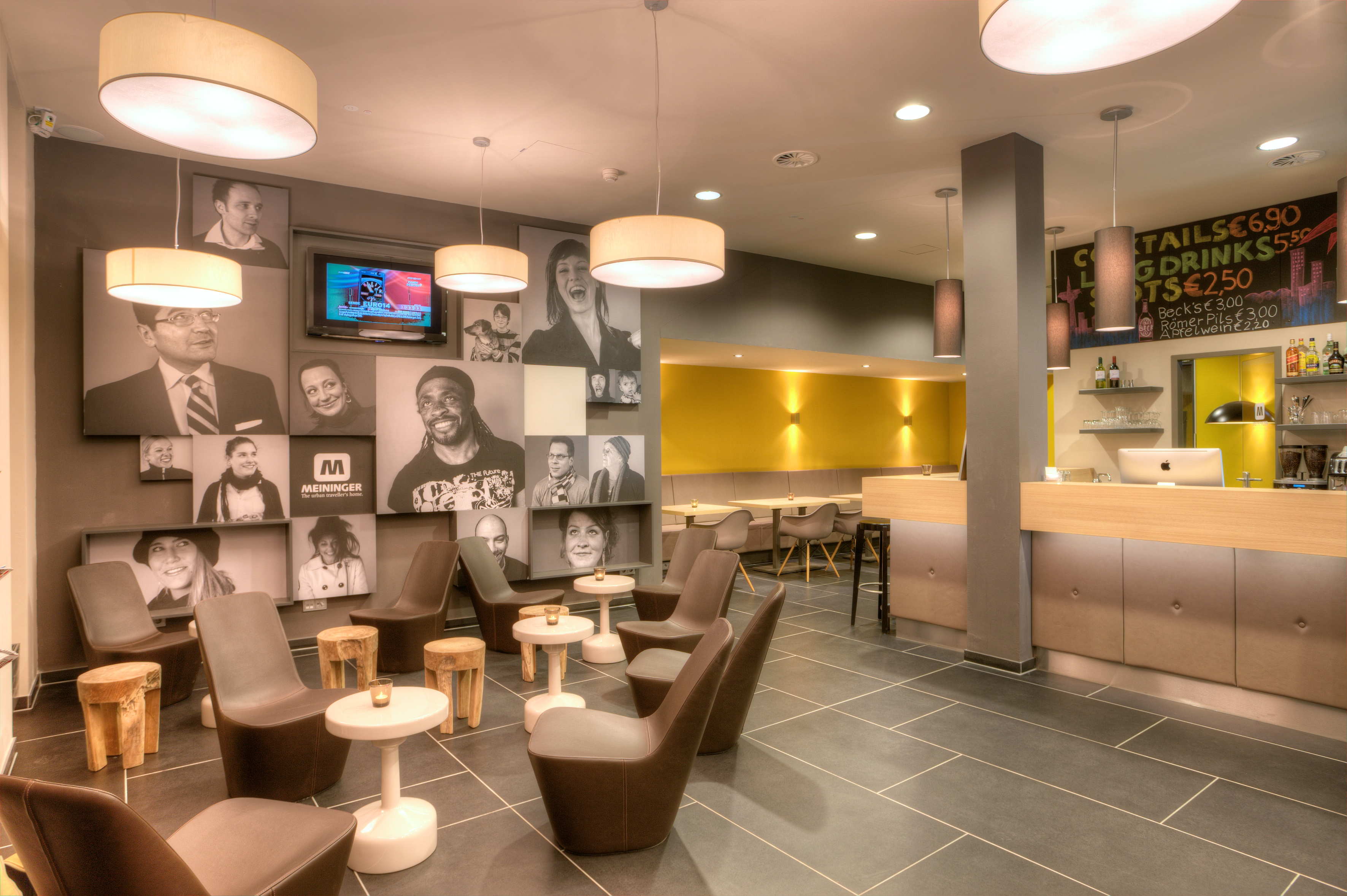 MEININGER Hotel Frankfurt/Main Messe - Lounge