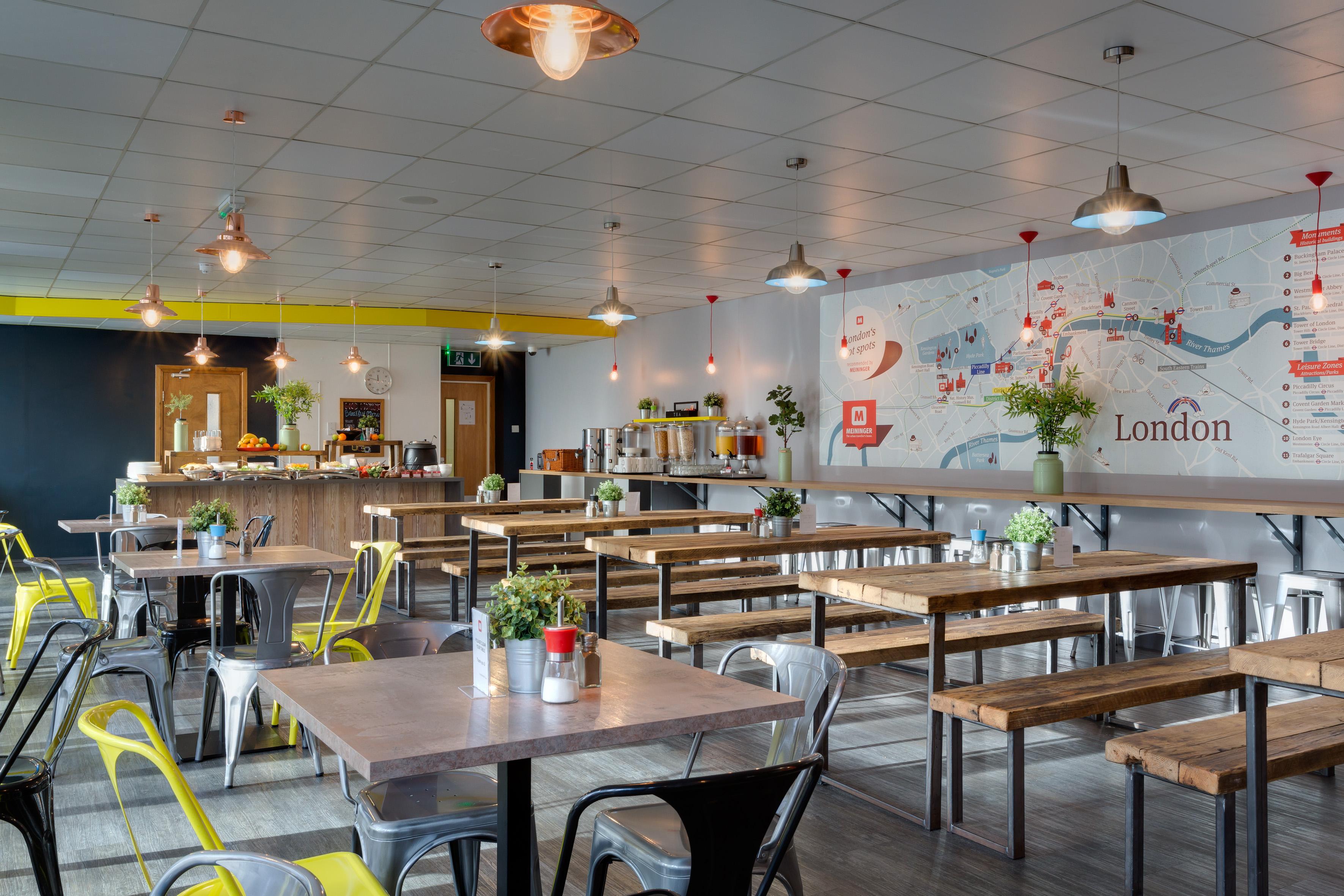 MEININGER Hotel London Hyde Park - Frühstücksraum/ Buffet