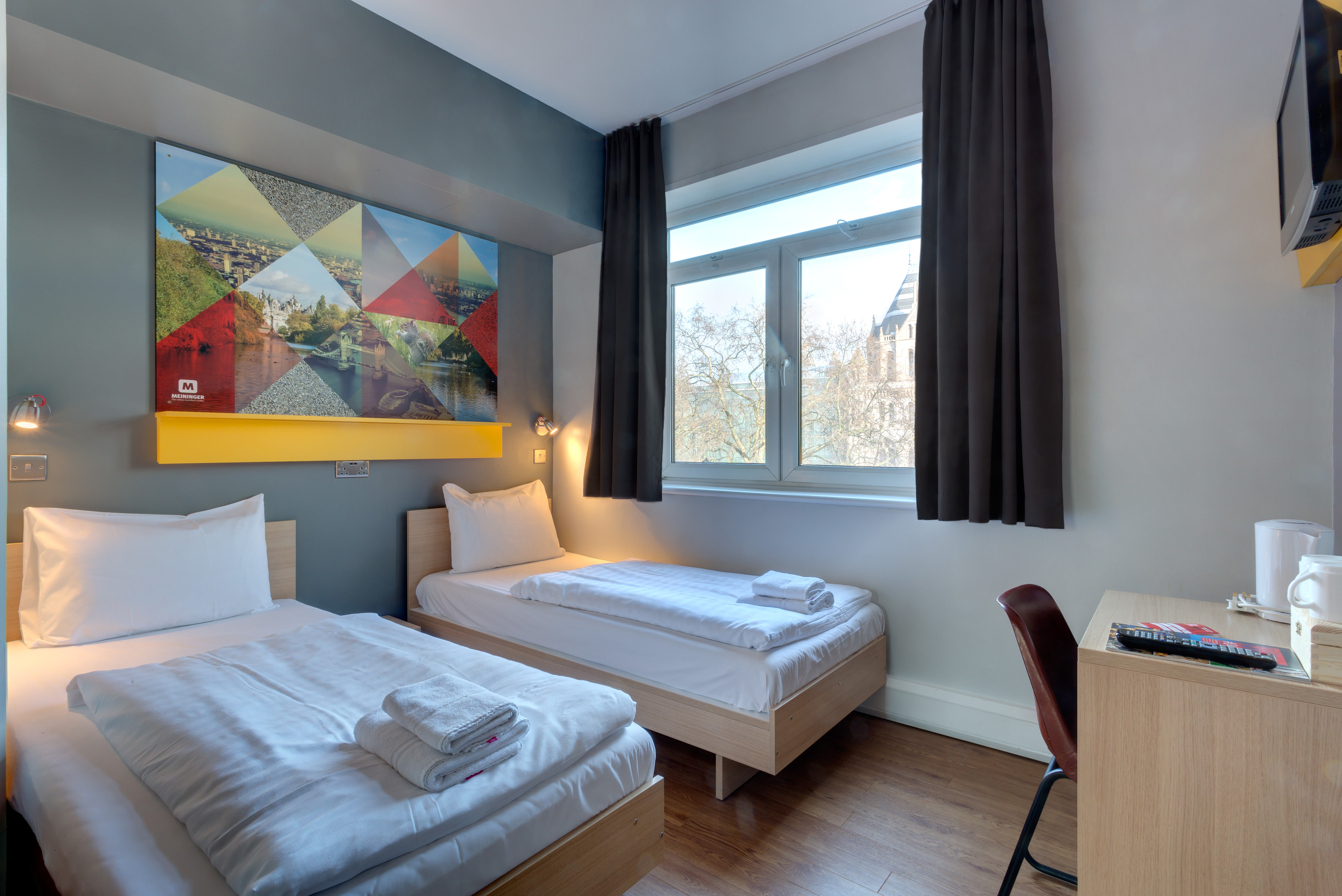 MEININGER Hotel London Hyde Park - Zweibettzimmer