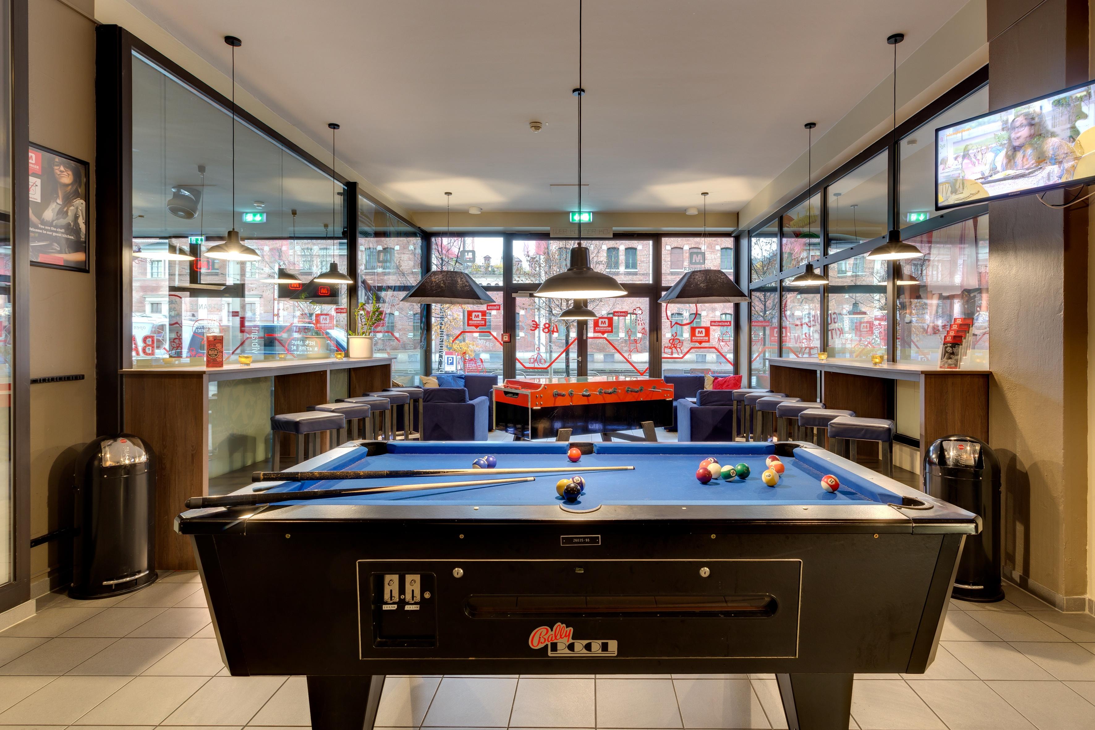 MEININGER Hotel Munich City Center - Zona de juegos