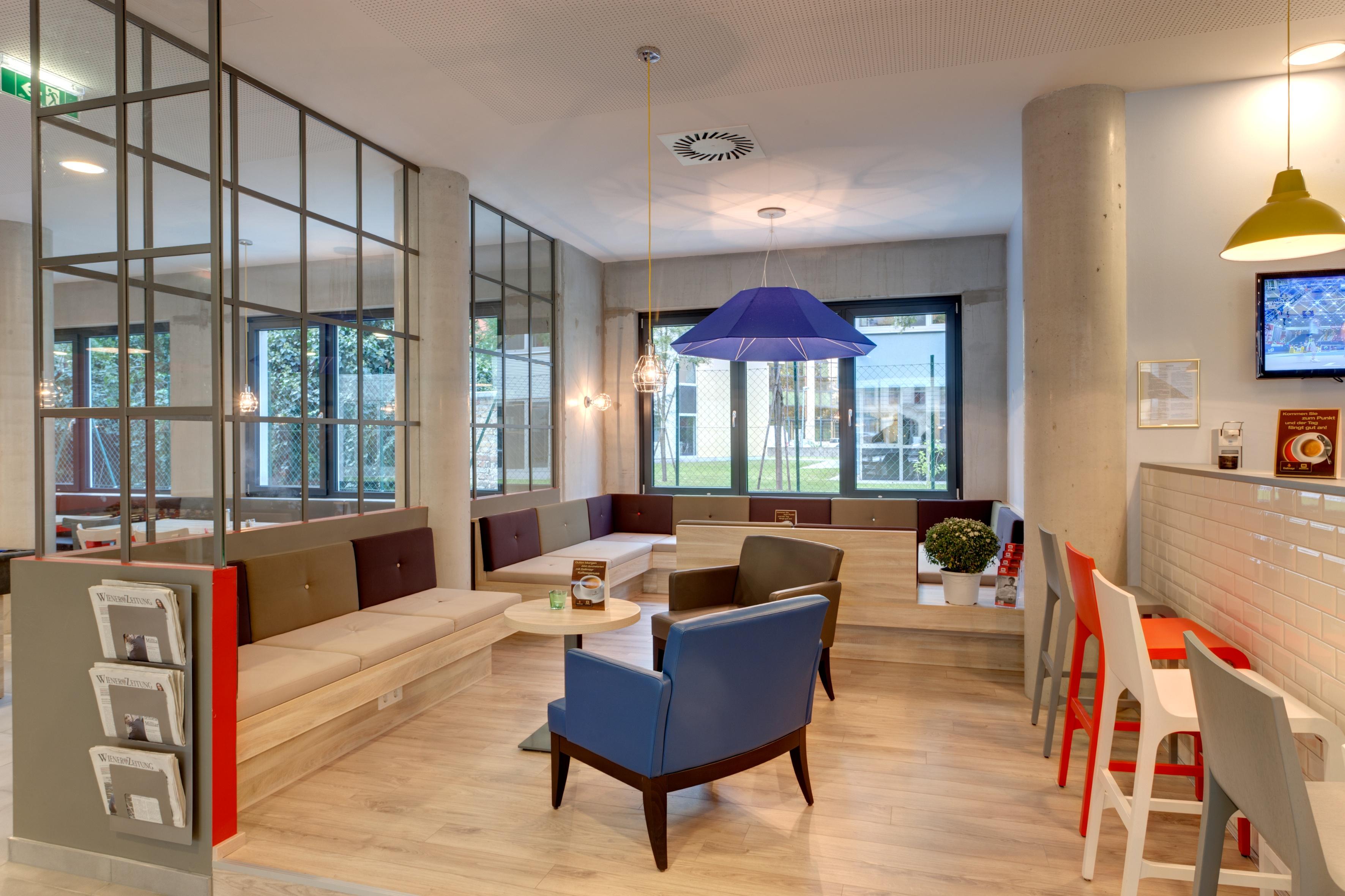 MEININGER Hotel Vienna Downtown Franz - Lounge