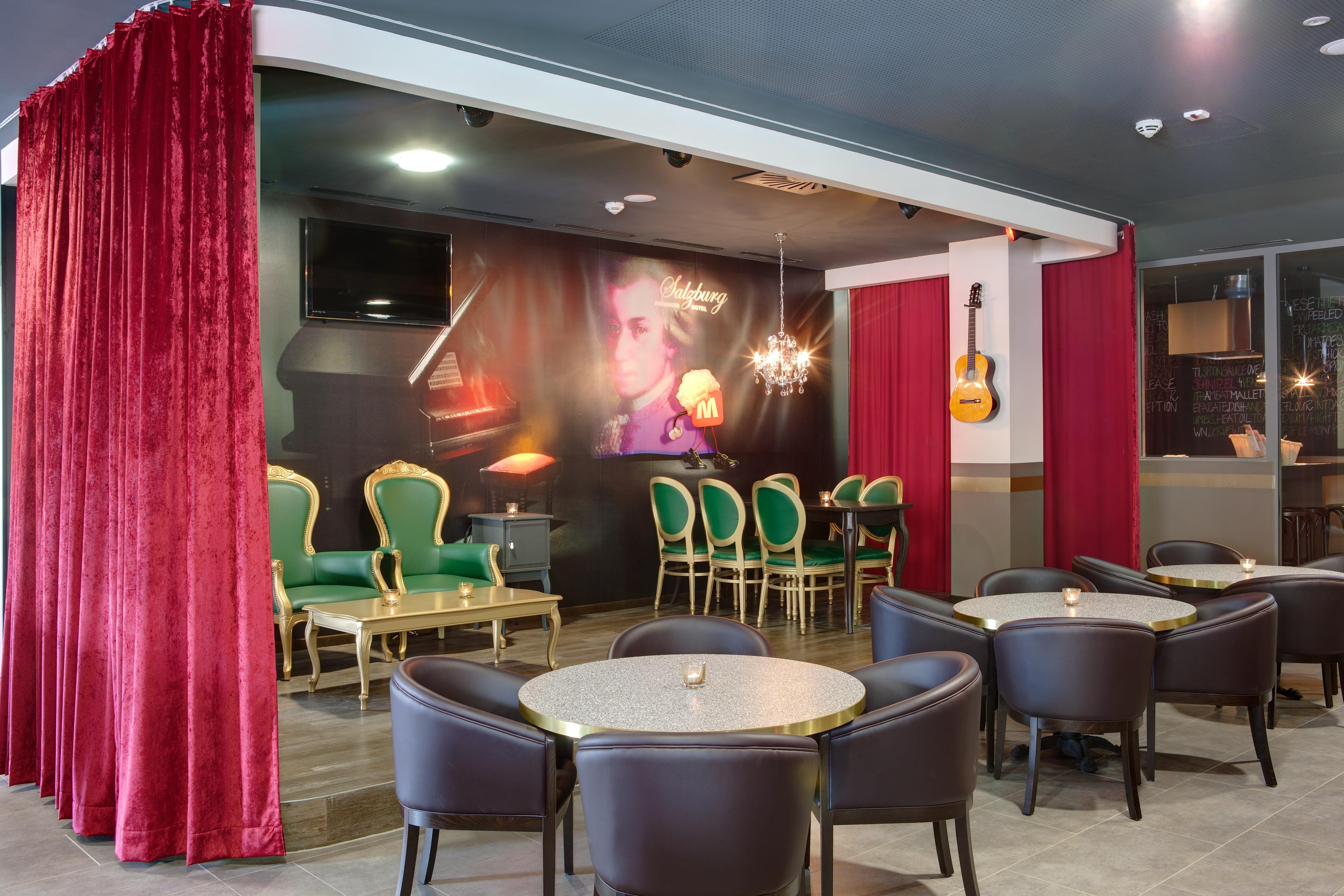 MEININGER Hotel Salzburg City Center - Lounge