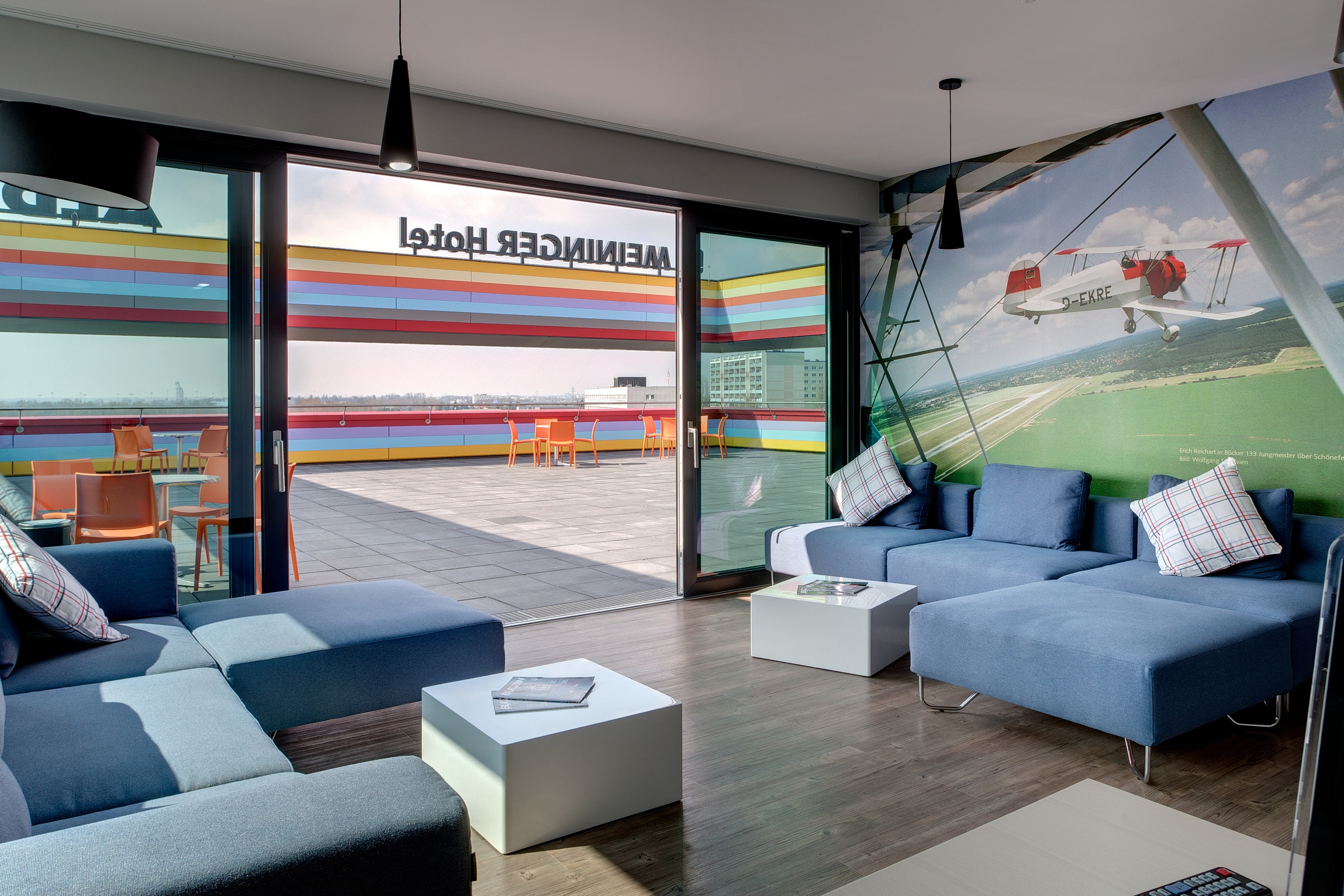 MEININGER Hotel Berlin Airport - Lounge
