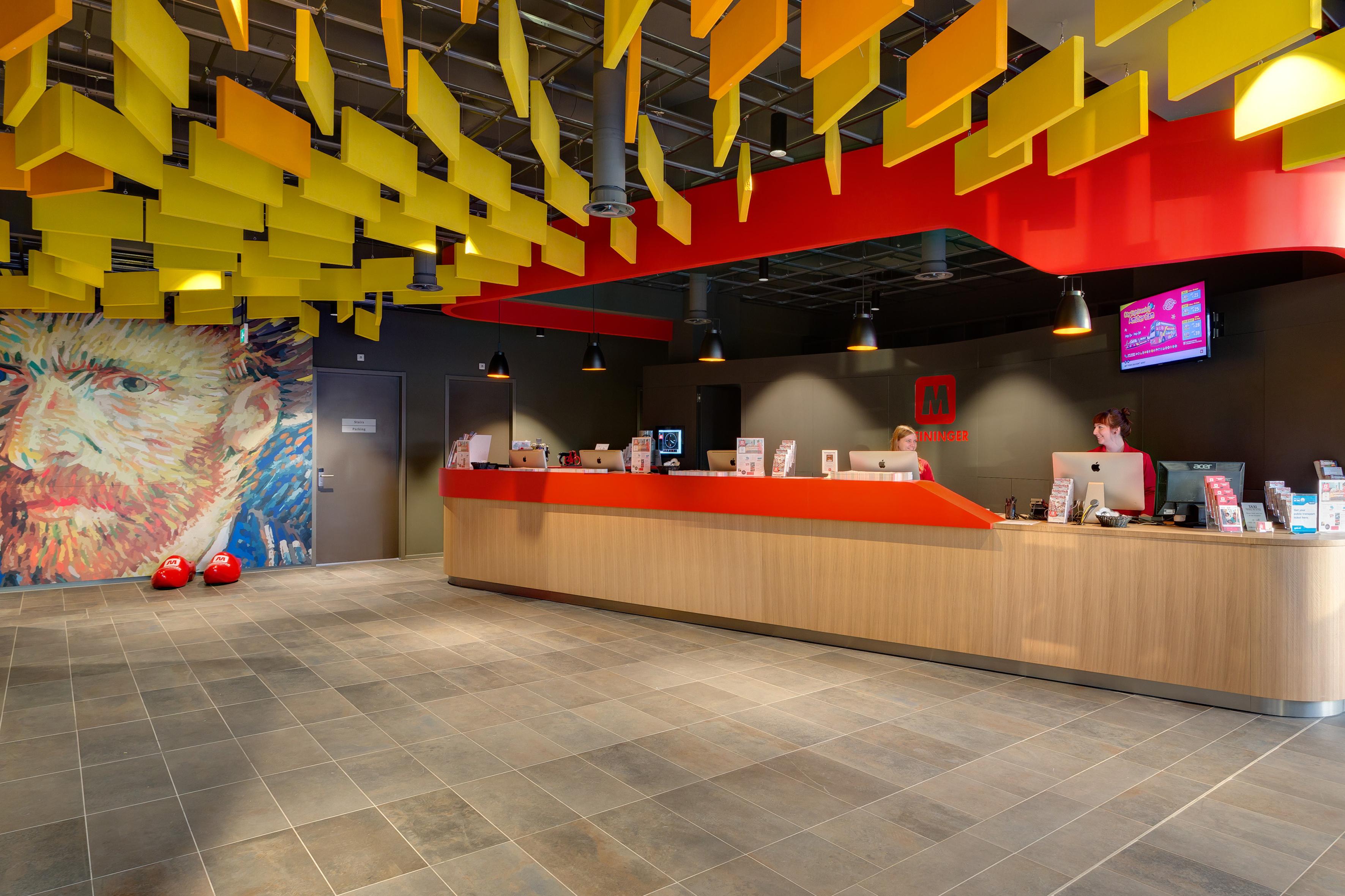 MEININGER Hotel Amsterdam City West - Lounge