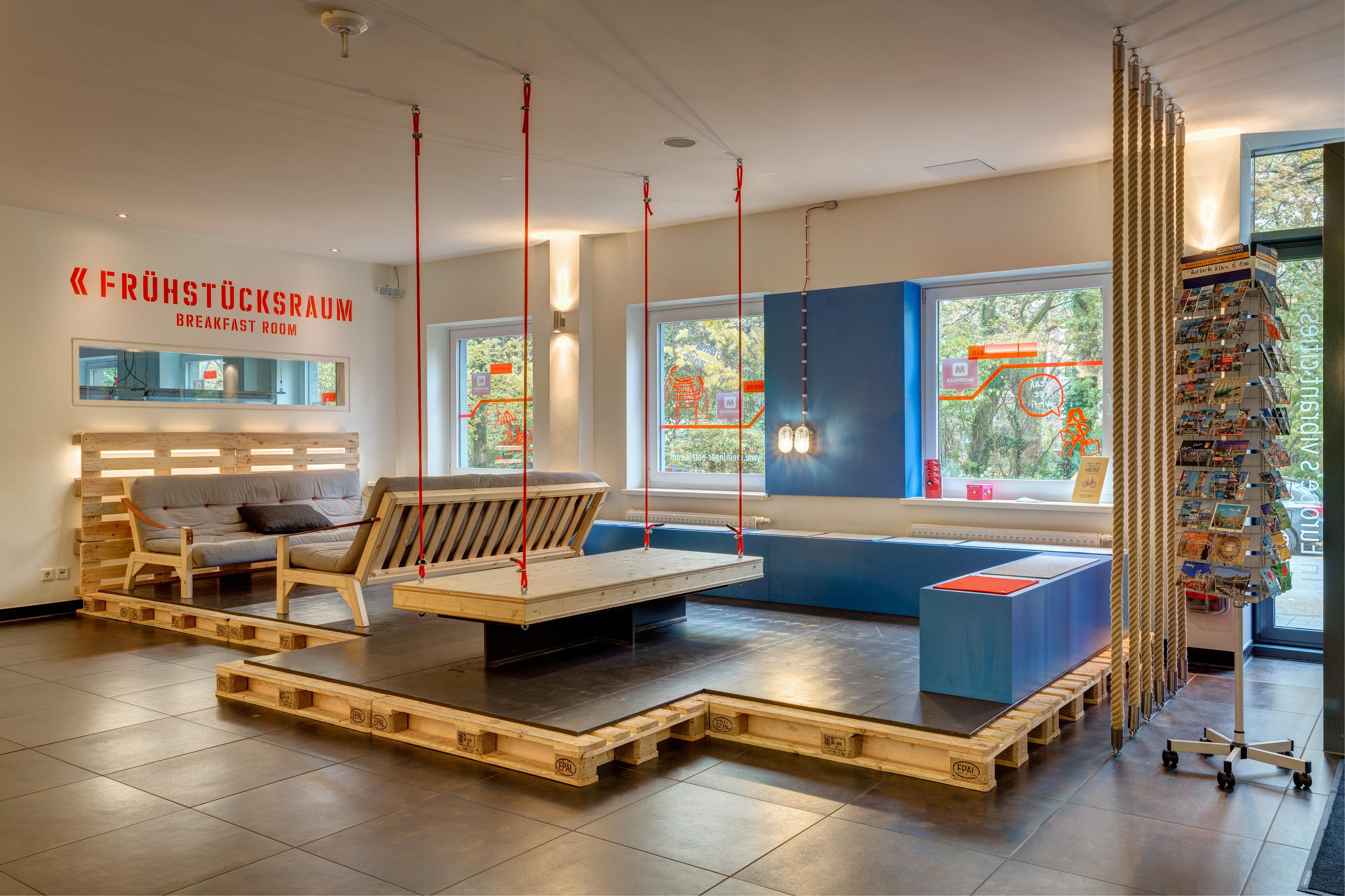 MEININGER Hotel Hamburg City Center - Lounge