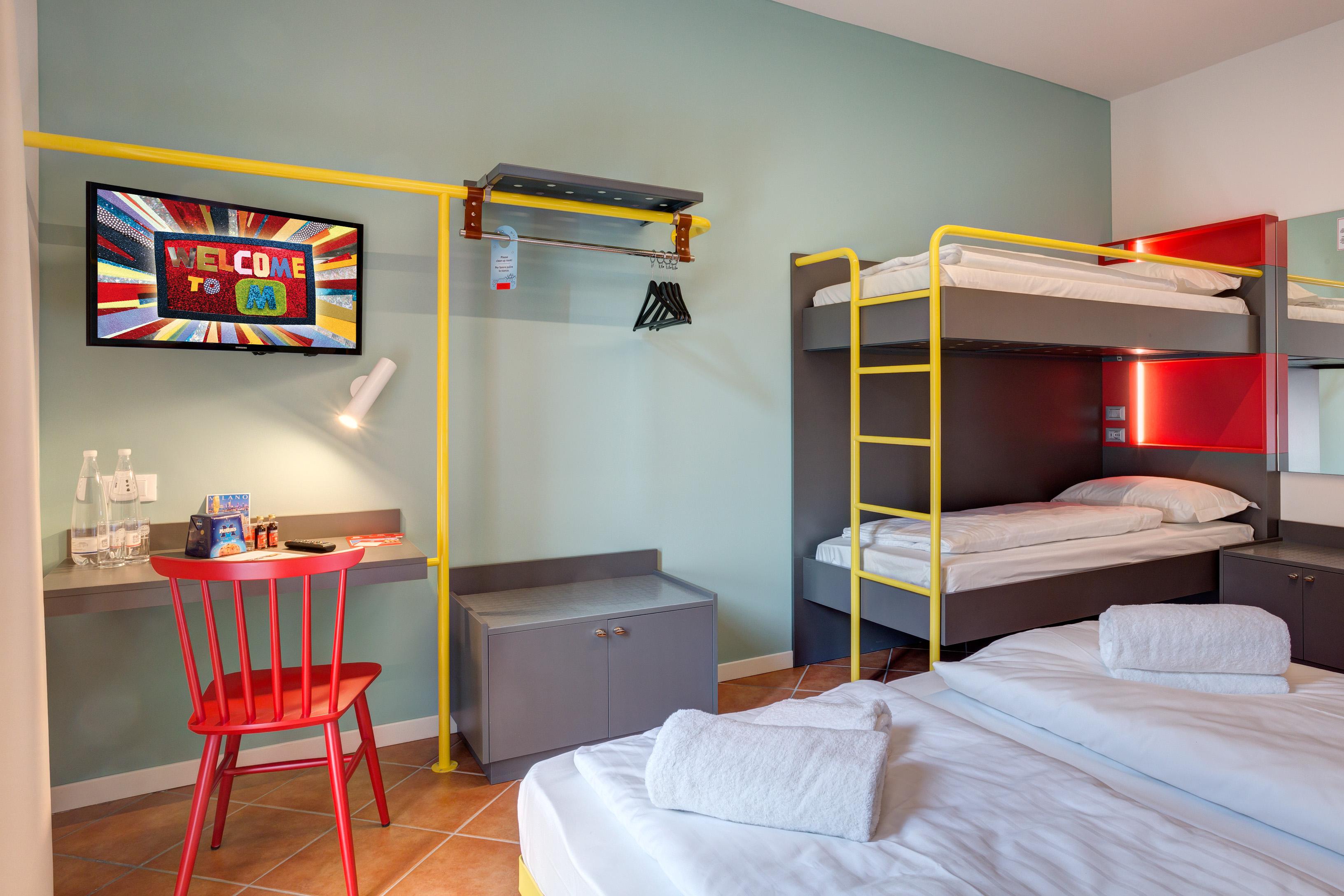 MEININGER Milano Garibaldi - Mehrbettzimmer