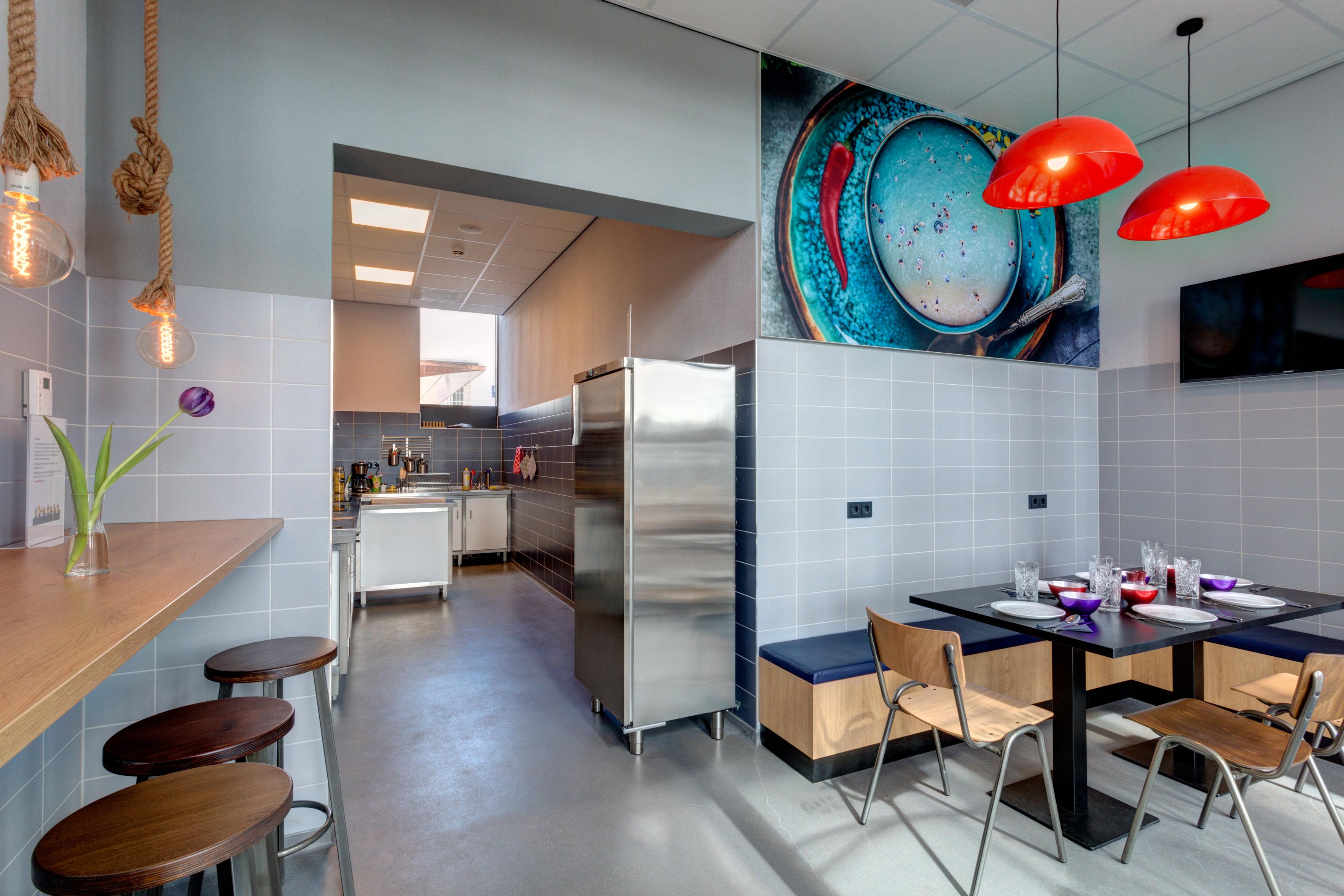 MEININGER Hotel Amsterdam Amstel - Cuisine commune