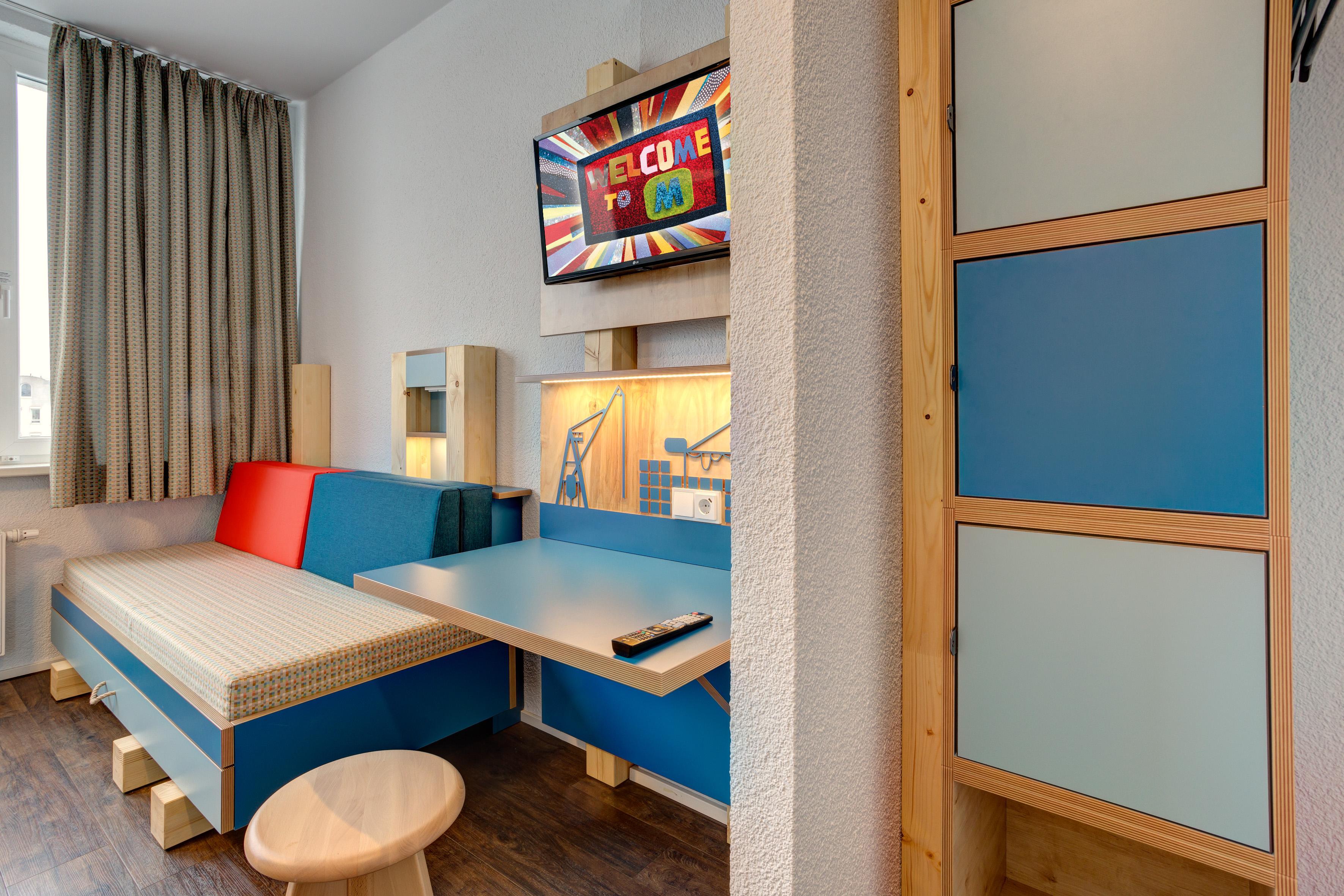 MEININGER Hotel Hamburg City Center - Family Room