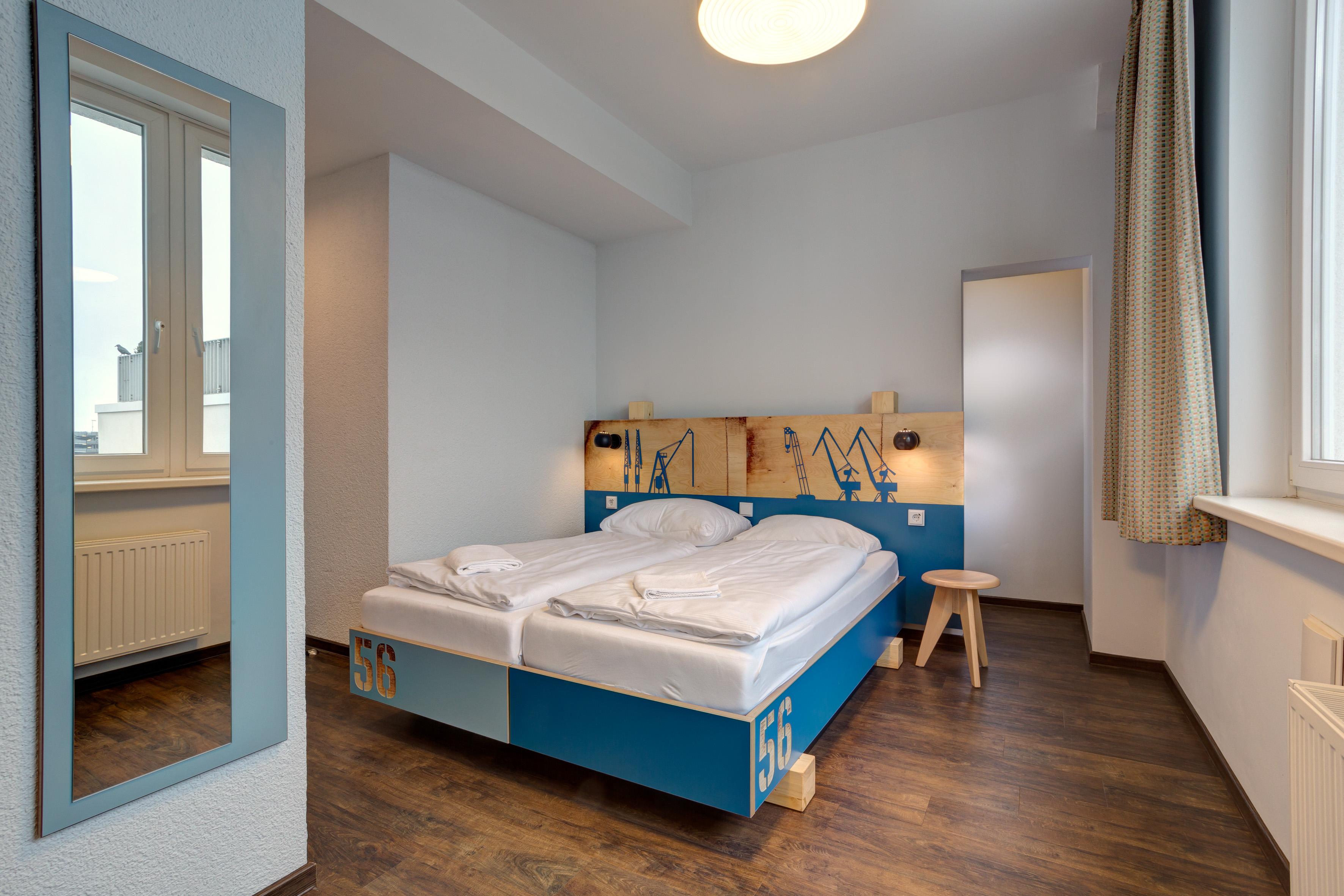 MEININGER Hotel Hamburg City Center - Habitación individual/doble