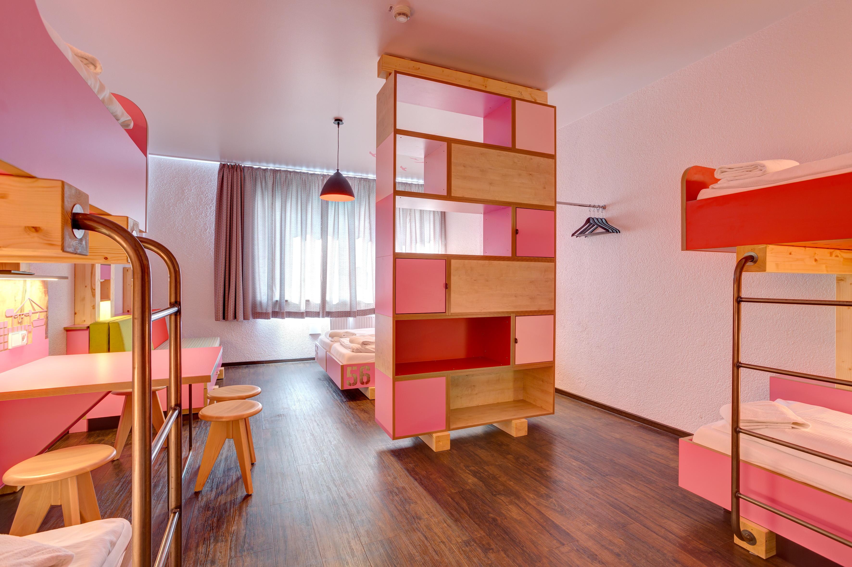 MEININGER Hotel Hamburg City Center - Slaapzaal