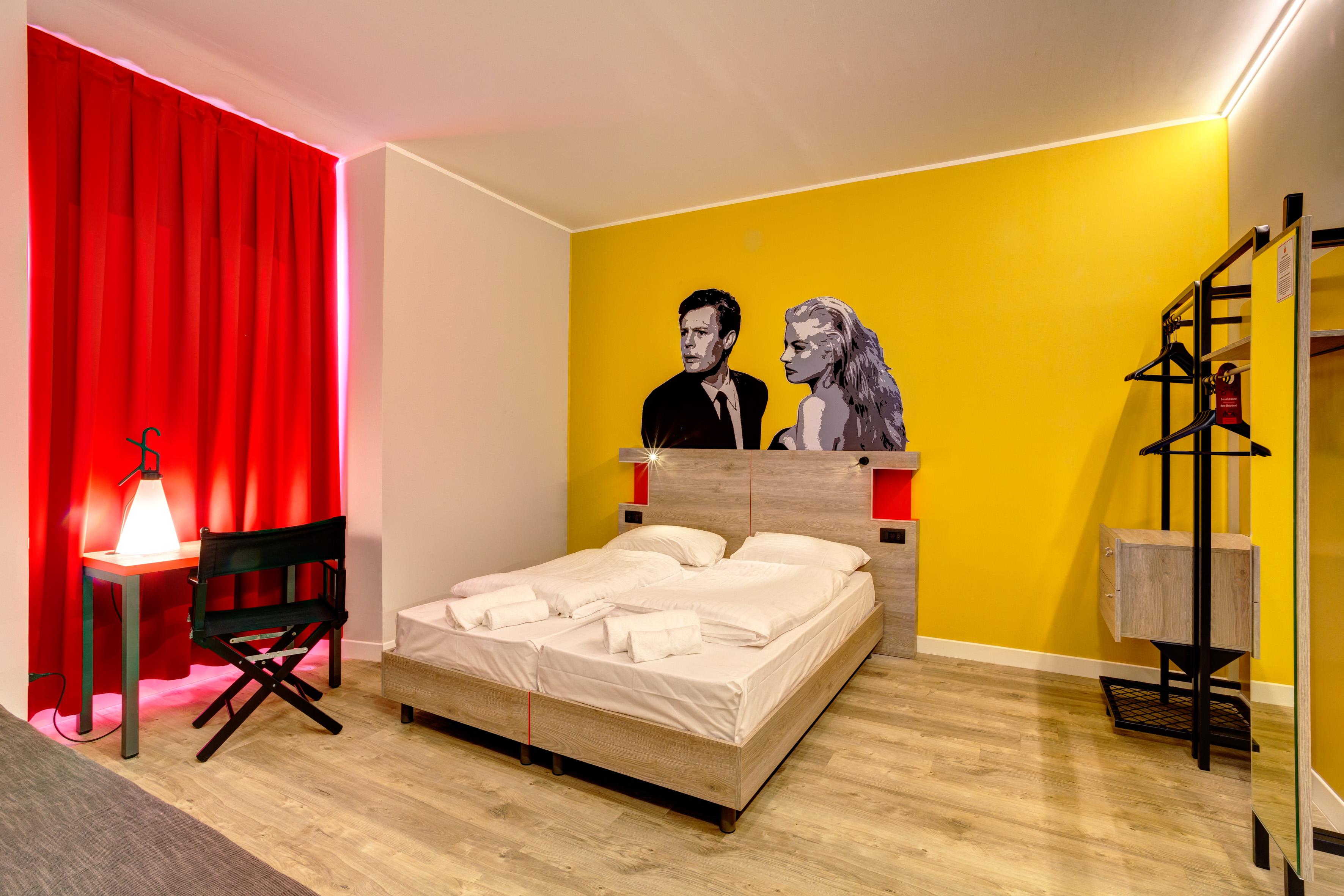 MEININGER Roma Termini - Habitación individual/doble