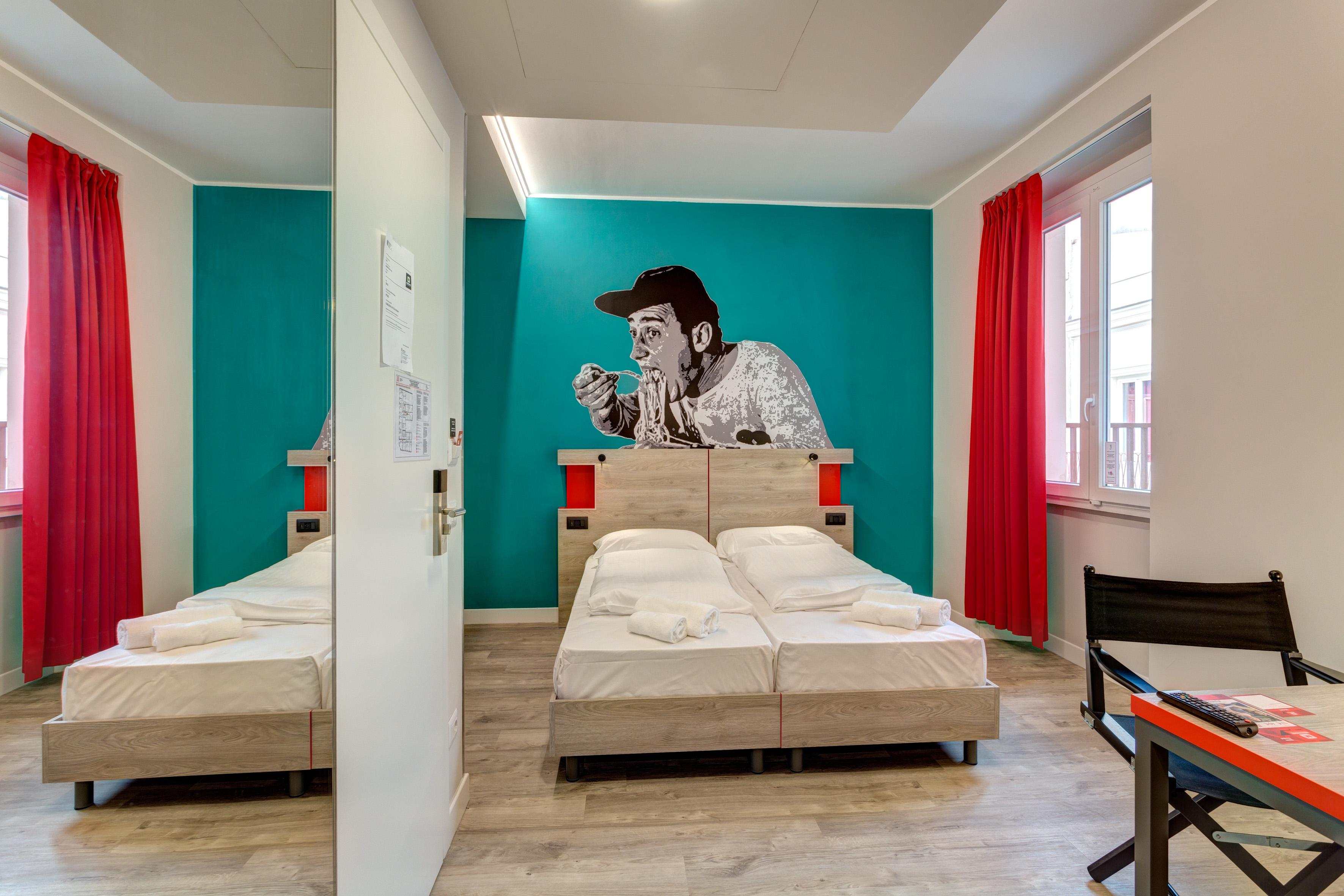 MEININGER Roma Termini - Een-/ Tweepersoonskamer