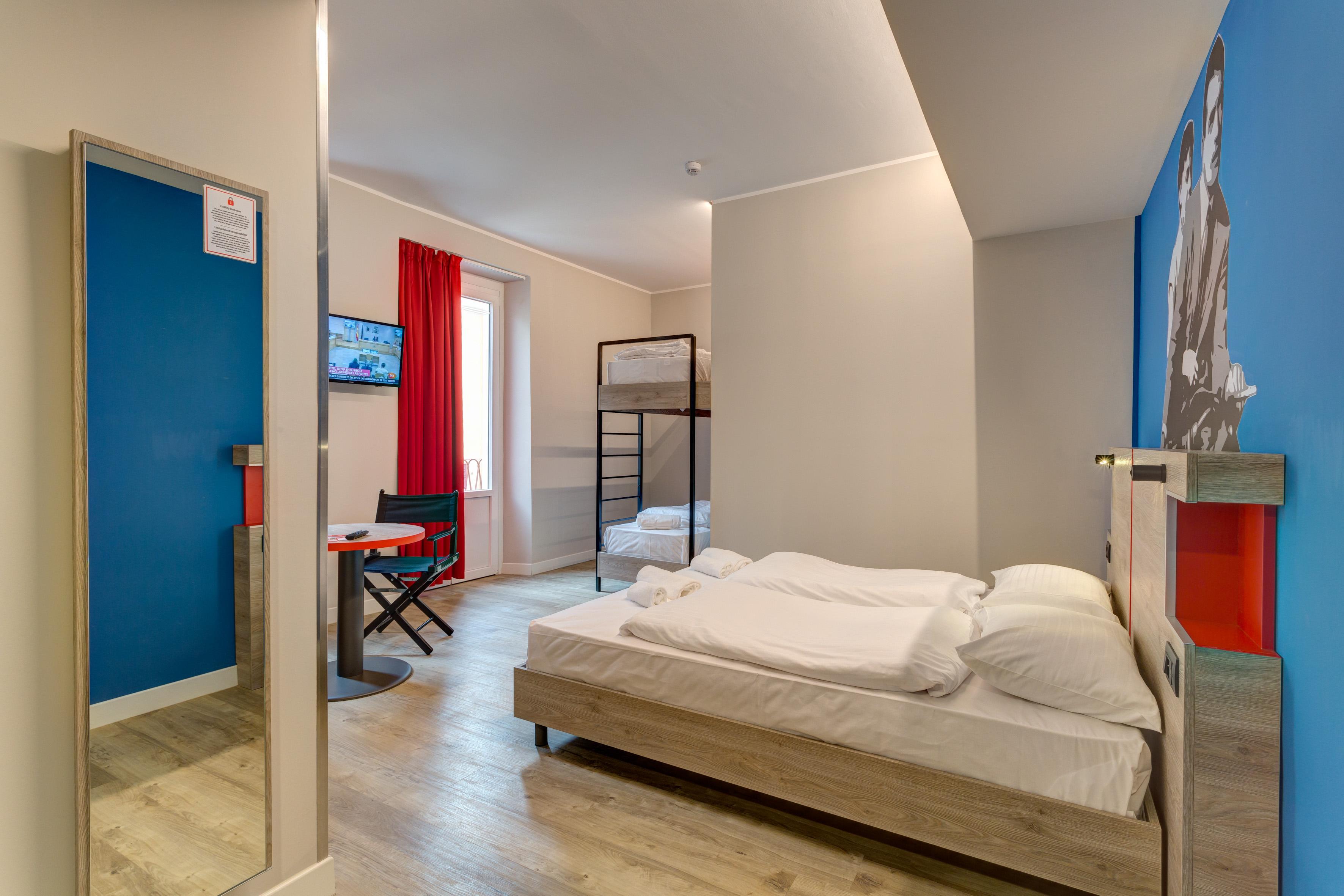 MEININGER Roma Termini - Habitación múltiple