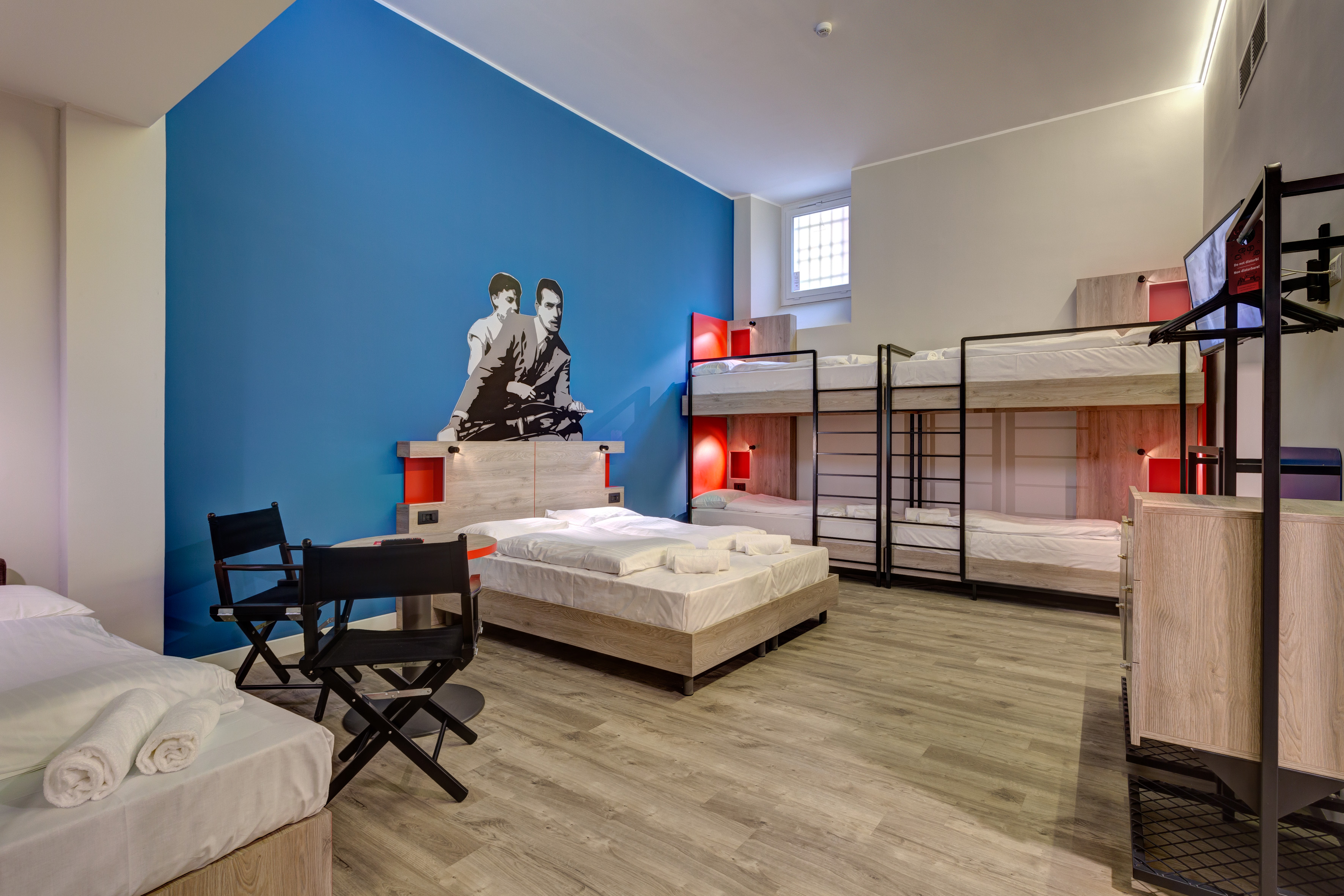 MEININGER Roma Termini - Dormitorio