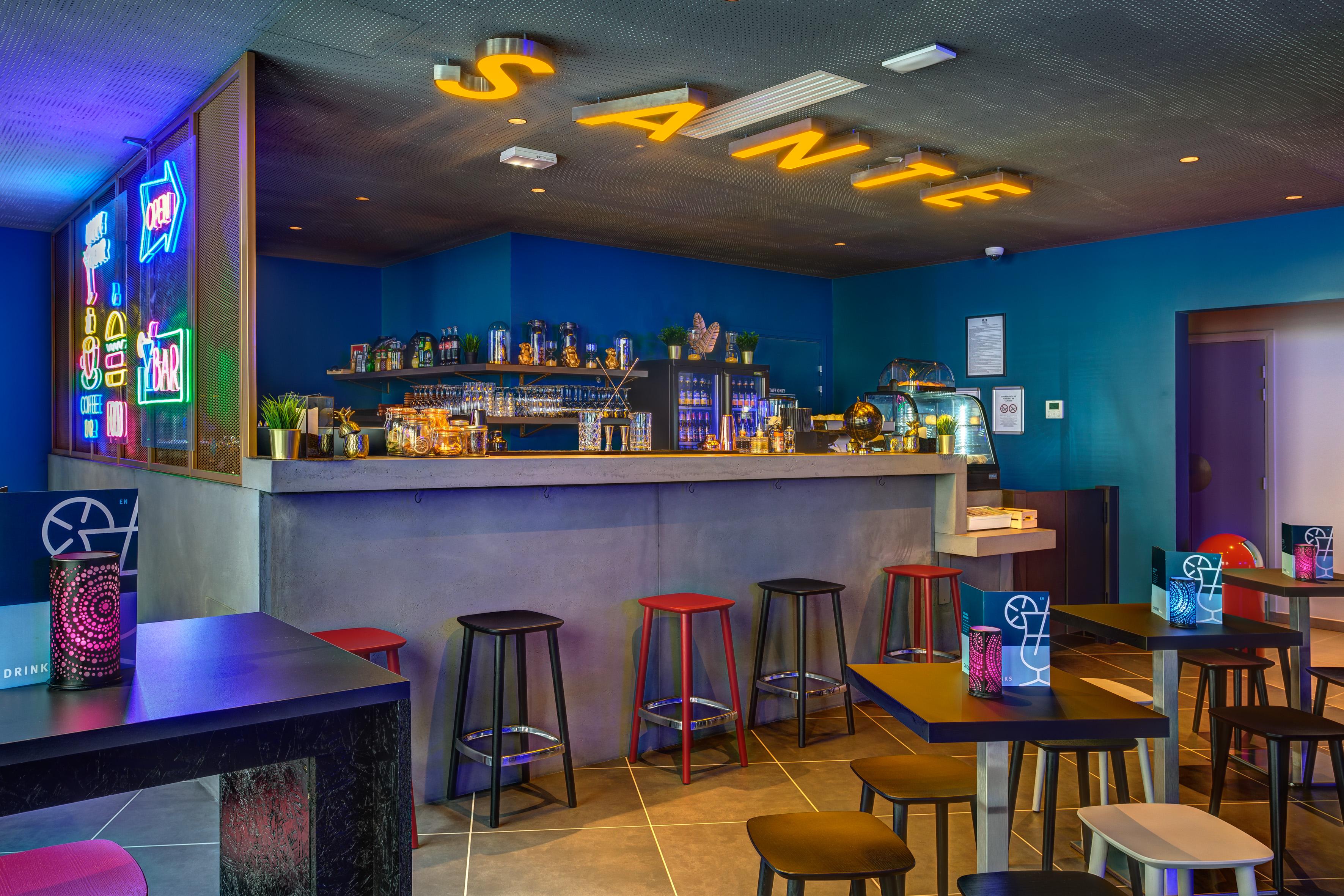MEININGER Hotel Lyon Centre Berthelot - Hotelbar