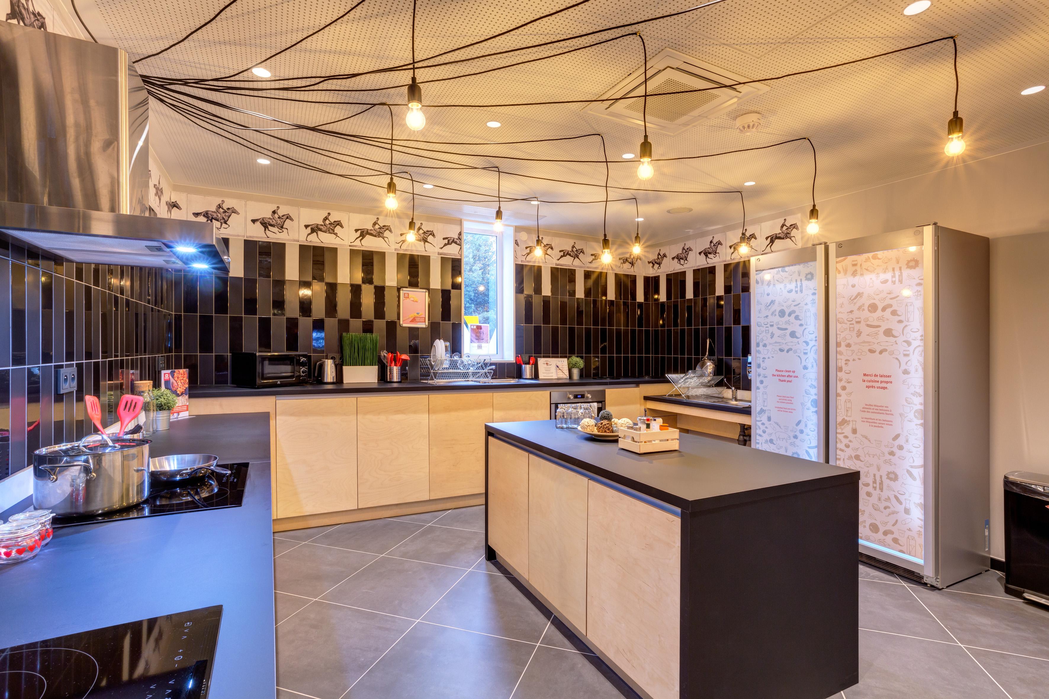 MEININGER Hotel Lyon Centre Berthelot - Gastenkeuken