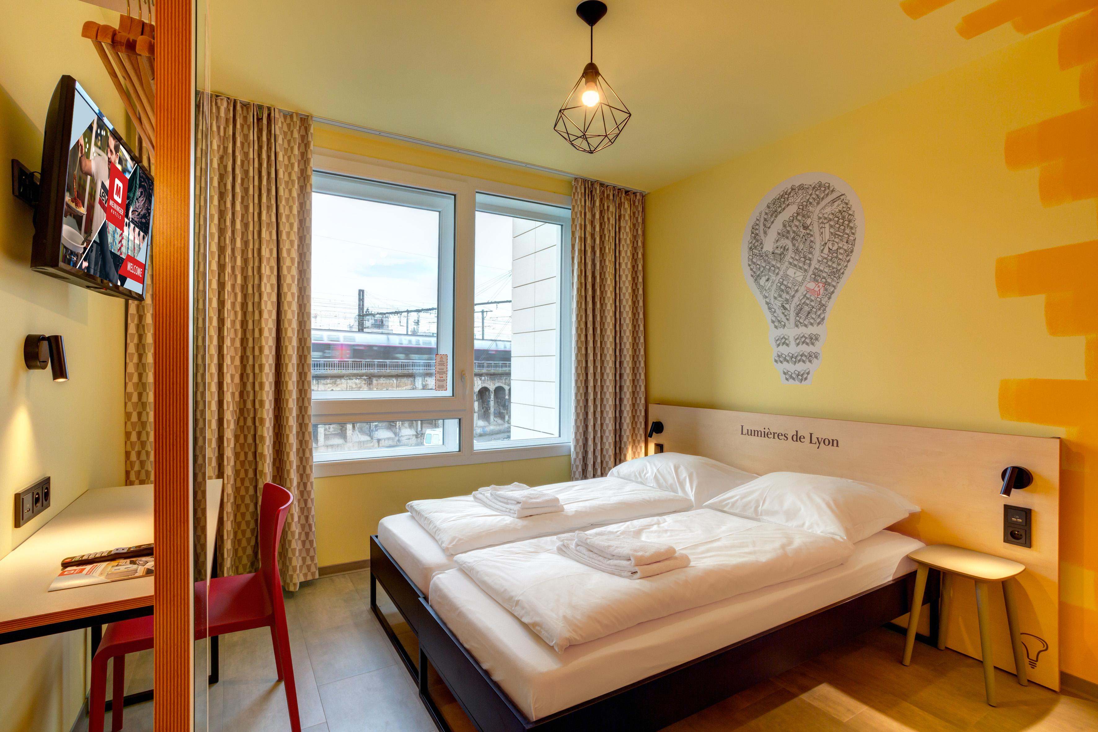 MEININGER Hotel Lyon Centre Berthelot - Een-/ Tweepersoonskamer