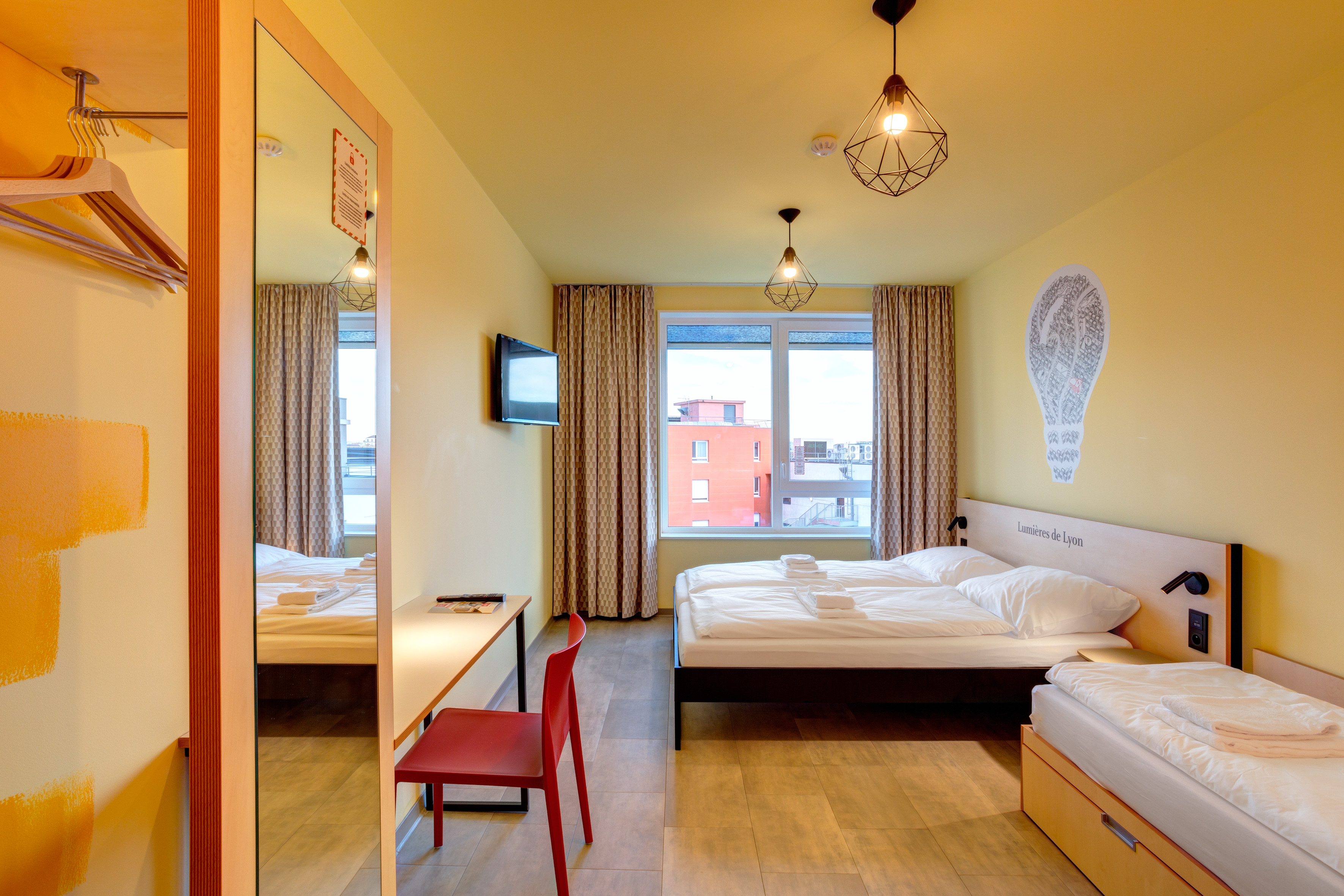 MEININGER Hotel Lyon Centre Berthelot - Meerpersoonskamer
